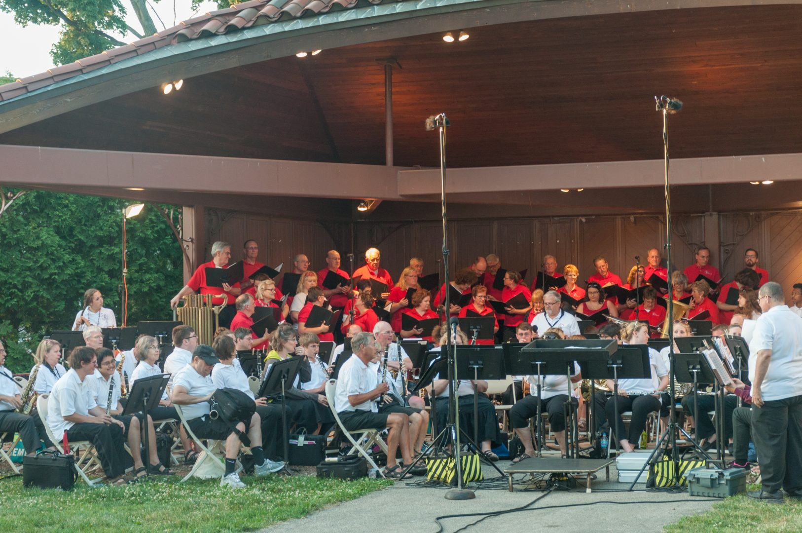 Fourth Of July Fireworks Concert with CL Community Band