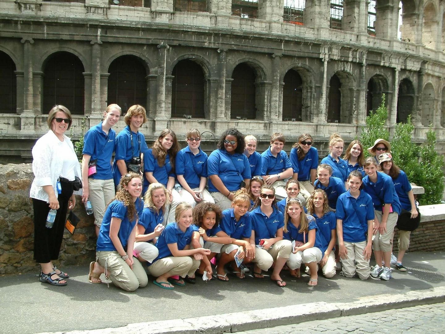 Encore Touring Choir at Colosseum, Rome, Italy 2007