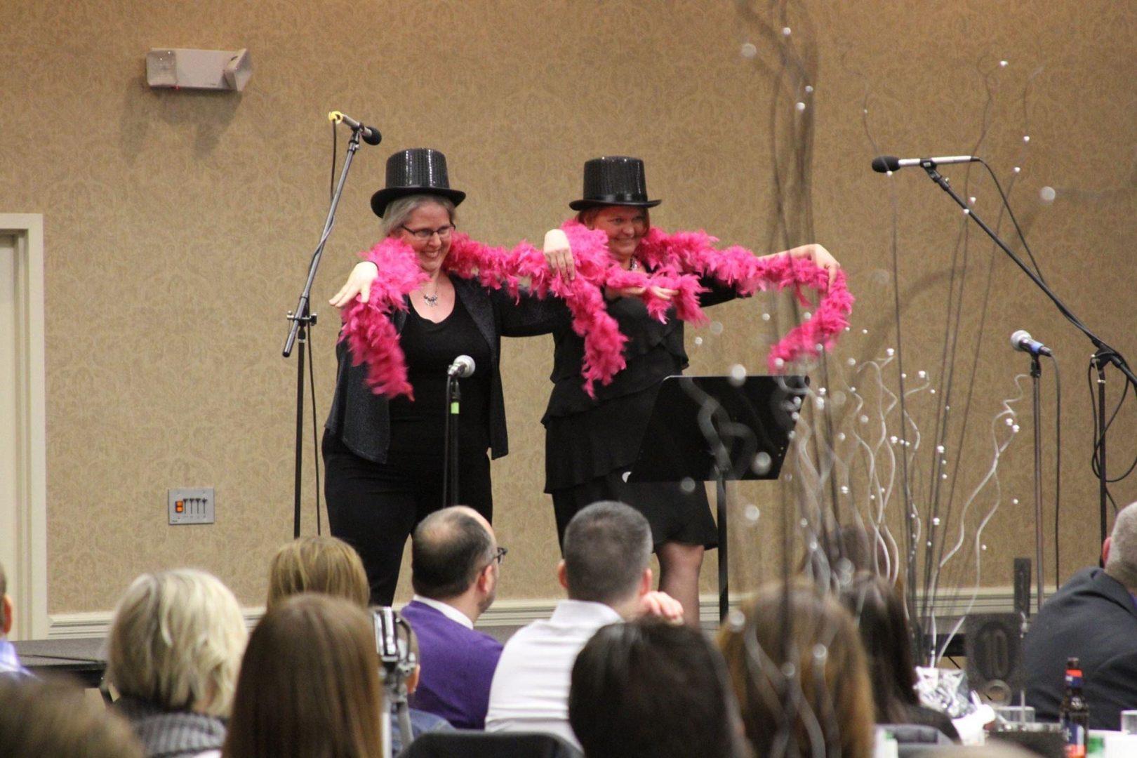 Gala Surprise Performance by Ann Tucker and Kim Scherrer
